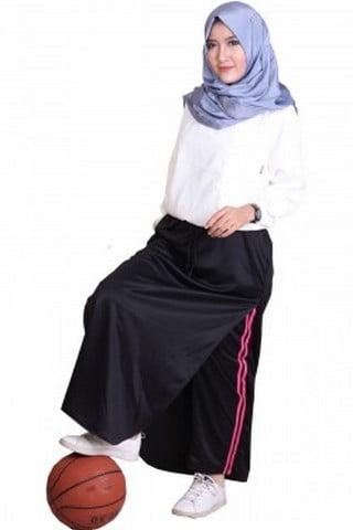 Rocella Rok Celana Sporty - Black