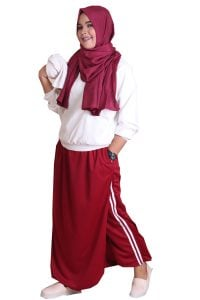 Rocella Rok Celana Sporty - Marun (l-xl) (1)