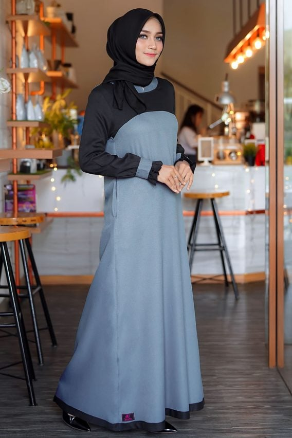 Rocella Dress Khanza - Dark Grey