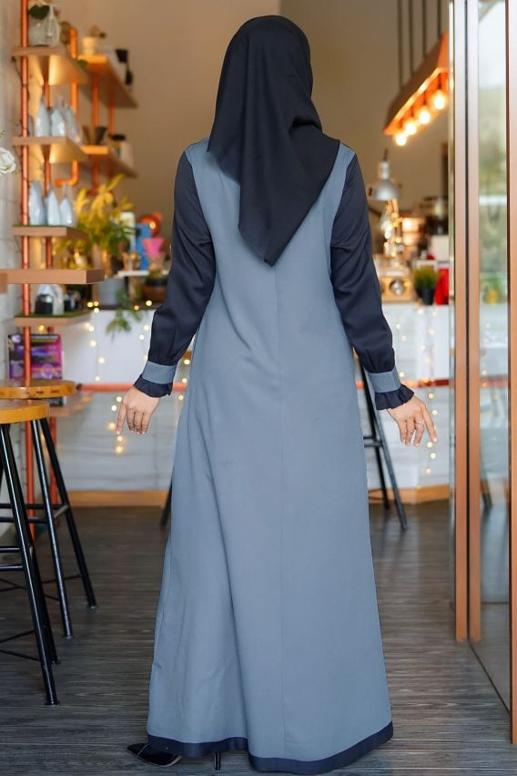 Rocella Dress Khanza - Dark Grey