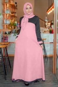 Rocella Dress Khanza - Salmon Peach