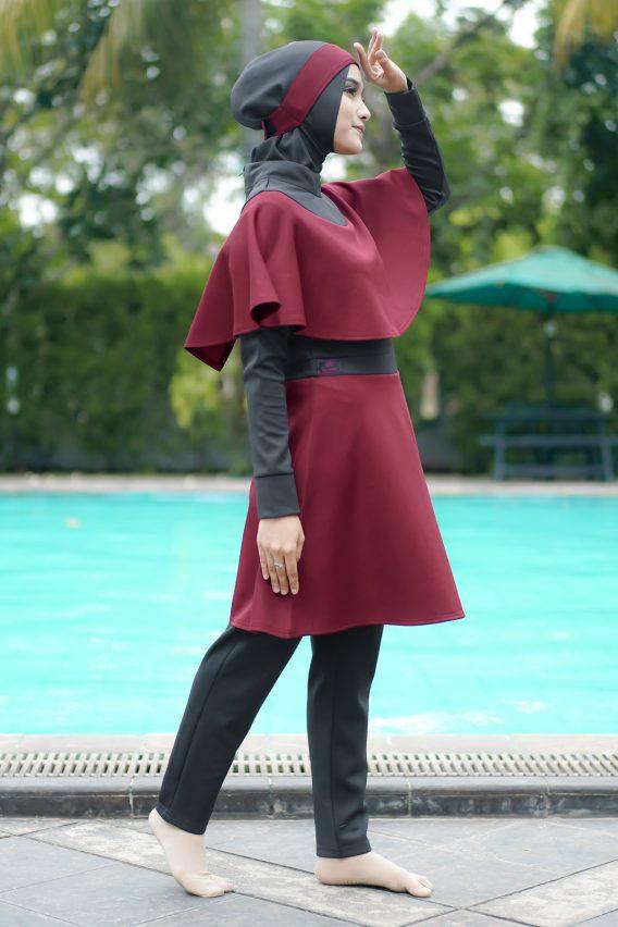 Rocella Swimwear Marina - Maroon