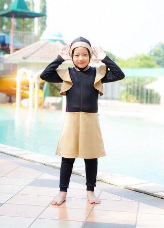 Rocella Swimwear Kids Karina - Moccachino